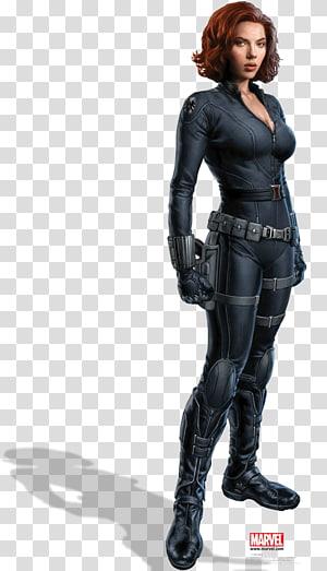 Ilustração da Viúva Negra Marvel, Scarlett Johansson Homem de Ferro da Viúva Negra Clint Barton Os Vingadores, Viúva Negra PNG clipart