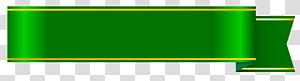 Web banner Clipe de papel, faixa verde png