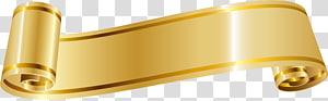 Fita ouro, fita dourada, rolagem bege png
