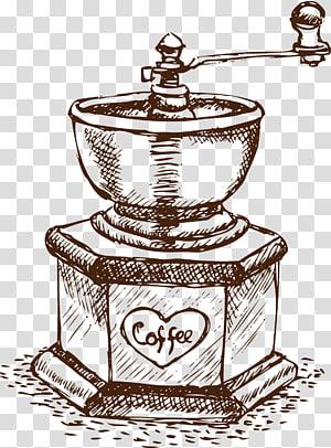 Café Café Gratis, Retro Suprimentos De Café png