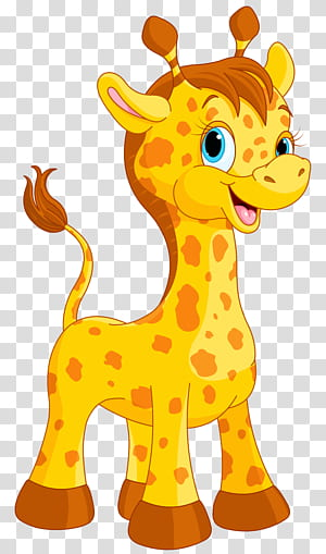 Giraffe Cartoon Drawing, Cute Giraffe Cartoon, ilustração de girafa PNG clipart