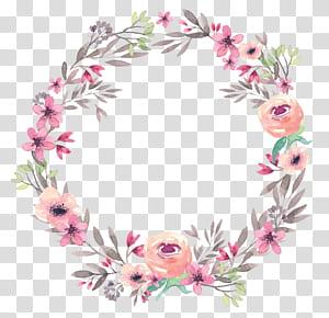 Capítulos e versículos da primeira epístola da Bíblia aos coríntios adoram imprimir, grinalda, arte floral rosa PNG clipart