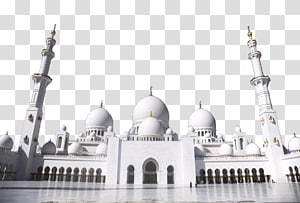 Mesquita branca vazia, Cairo Dubai Islam Poster, Taj Mahal dois PNG clipart