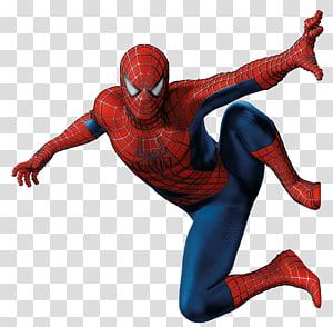 ilustração vermelha e azul do Homem-Aranha, Homem-Aranha Miles Morales Marvel Comics, Homem-Aranha png