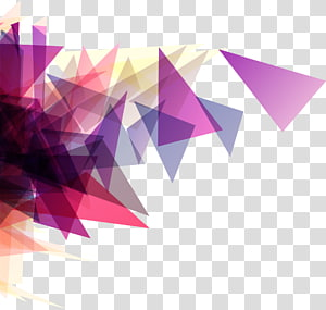 ilustração arte abstrata, triângulo roxo Forma geometria, triângulo roxo abstração Não se preocupe PNG clipart