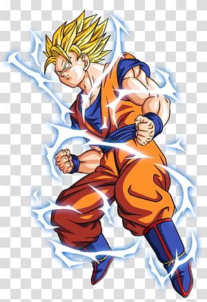 Dragon Ball Z Son Goku ilustração, Dragon Ball Z Dokkan Batalha Goku Vegeta Gohan Freeza, dragon ball z png