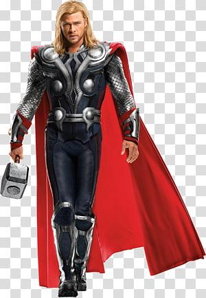Marvel Thor ilustração, Chris Hemsworth Thor Os Vingadores Capitão América Homem de Ferro, Vingadores png