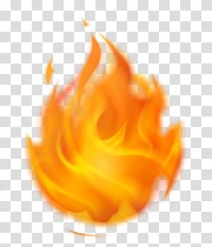 Chama de fogo, fogo flamejante, chama laranja PNG clipart