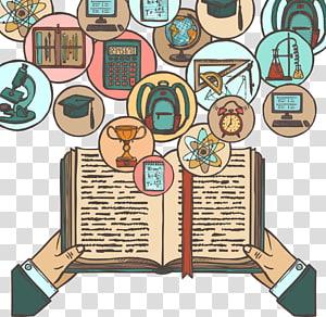homem, segurando, livro ciência, estudante, educação, aprendizagem, escola, livro, aprendizagem, educação PNG clipart