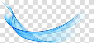 Azul, grande onda linhas abstratas fundo, azul PNG clipart