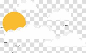 Marca branca, céu, pássaros voando na ilustração do céu PNG clipart