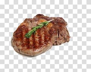 carne grelhada média, bife Frango de churrasco Rosbife, Livre para puxar o material Bife PNG clipart