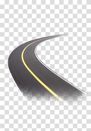 estrada de concreto preto, estrada, estrada png