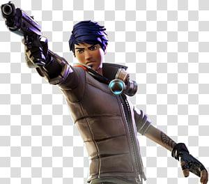 personagem de jogo masculino de cabelos azuis, Fortnite Battle Royale PlayerUnknown \ 's Battlegrounds Battle royale game YouTube, Fortnite png