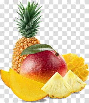 abacaxi e maçã frutas, suco de salada de frutas abacaxi manga frutas tropicais, frutas tropicais png