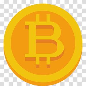 Bitcoin, símbolo de texto na área, Bitcoin png