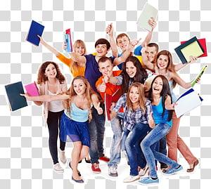 grupo de pessoas s, grupo de estudantes Educação Universidade Escola, alunos PNG clipart