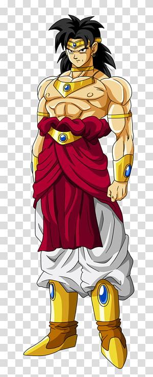 Ilustração de personagem de Dragon Ball, Dragon Ball Heroes Bio Broly Goku Vegeta Trunks, fundo de Dragon Ball Broly png