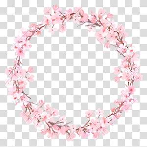 ilustração de grinalda de flor-de-rosa, grinalda de pintura aquarela flor, grinalda de flor PNG clipart