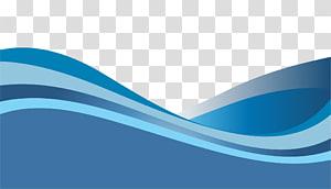 Marca azul, padrão de onda dinâmica gradiente azul, verde-azulado e cinza png