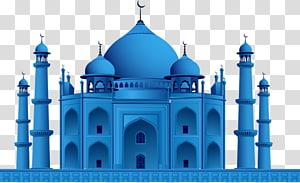 ilustração da mesquita azul, eid mubarak eid al-fitr ramadan, taj mahal na índia PNG clipart