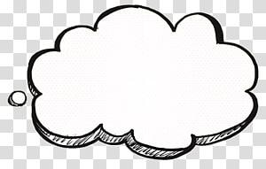 Desenho de desenho animado de nuvem, pensando em decorações de nuvem, nuvem PNG clipart