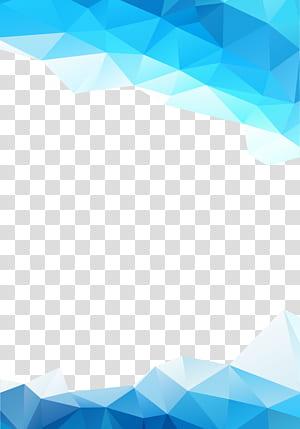 Gráficos abstratos azuis, azuis, fundo azul png