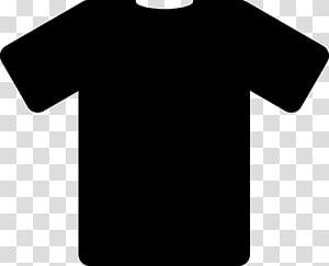 Camiseta Polo camisa preta, camiseta preta PNG clipart