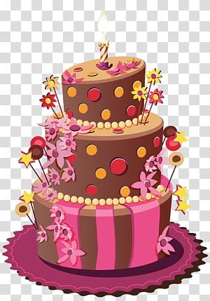 Bolo de aniversário Bolo de casamento Bolo de açúcar Torte, Bolo de aniversário, bolo de chocolate png
