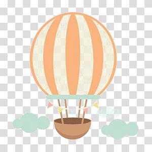 ilustração de gráficos de balão de ar quente, balão de ar quente Scrapbooking, balão de ar quente dos desenhos animados png