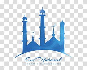 Mesquita Sheikh Zayed Ramadan Quran Eid al-Fitr, cartaz da igreja céu azul, Eid Mubarak Islamic background logo PNG clipart