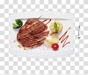 Bife Lombo de vaca Bife assado Bife de pimenta, Bife de pimenta preta PNG clipart