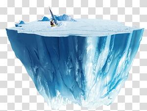 iceberg, iceberg ícone, padrão de decoração atmosfera azul iceberg PNG clipart