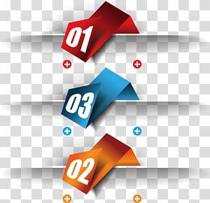 número vermelho, azul e laranja, caixa de texto do modelo, caixa png