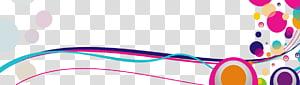 pontos e linhas coloridas pontos coloridos Design gráfico, linhas abstratas pontos coloridos PNG clipart