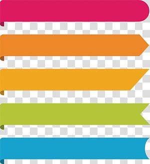 Ícone de gráfico infográfico, elemento PPT criativo, ilustração de linha de cinco cores sortidas png