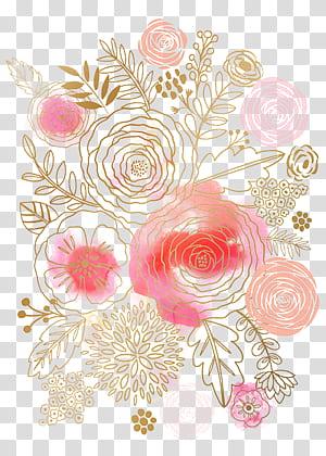 Flor Pintura em aquarela Design floral Rosa, Flores em aquarela, ilustração floral multicolorida PNG clipart