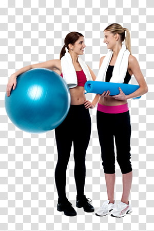 Exercício físico Bolas de exercícios Personal trainer Fitness Center Pilates, feliz dia das mulheres png