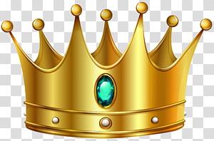 Coroa de ouro, coroa de ouro com diamantes, arte digital em coroa de ouro PNG clipart