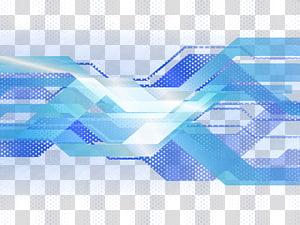 Eficácia luminosa leve, sombreamento de fundo de tecnologia, azul, verde e branco png