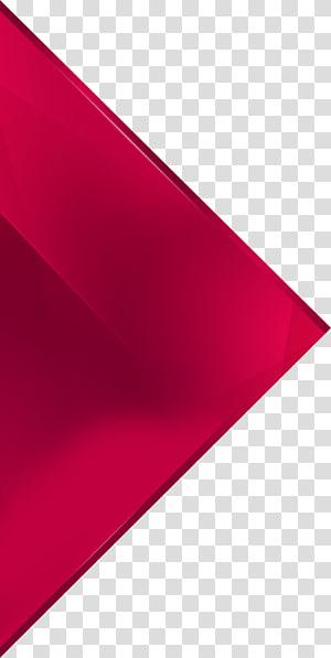ilustração do triângulo vermelho, geometria triângulo, ornamento do triângulo PNG clipart