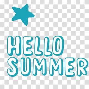 Olá ilustração de verão, verão euclidiano, Olá verão PNG clipart