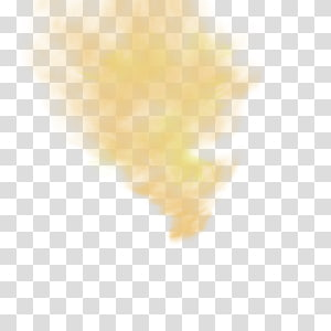 Névoa clara Fumaça amarela Laranja, névoa clara amarela, névoa clara alaranjada png
