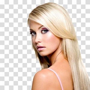 cabelo loiro feminino, agência de modelos Hair Cosmetics Beauty, modelo de cabelo PNG clipart