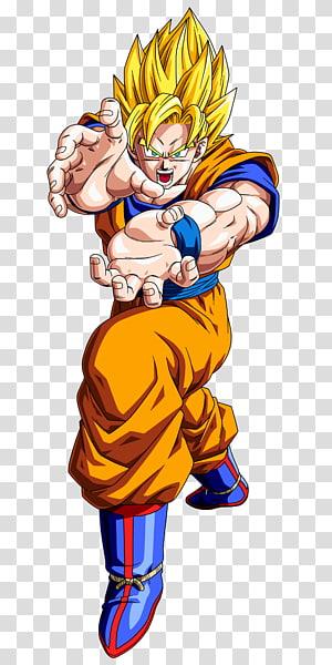 Son Goku Super Saiyan 2, Goku Android 18 Vegeta Troncos Dragon Ball, Dragon Ball png