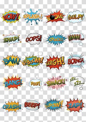 de ícones de mensagem em quadrinhos, quadrinhos artista quadrinhos, nuvem de quadrinhos PNG clipart