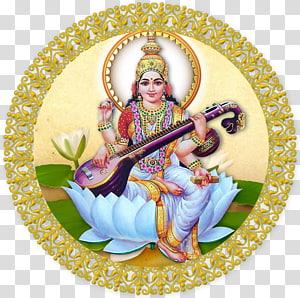 Shiva Wordzz Saraswati Durga, Saraswati s PNG clipart