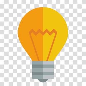 lâmpada laranja e amarela, balão de ar quente amarelo laranja, lâmpada PNG clipart