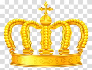Coroa de ouro, coroa de ouro, ilustração de coroa de ouro PNG clipart