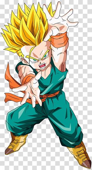 Ilustração de Dragon Ball Goten, troncos Goku Gohan Vegeta Goten, dragon ball z png